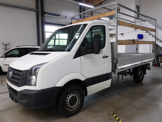 VW Crafter 35 Kab.-Ch. 3665 2. ...