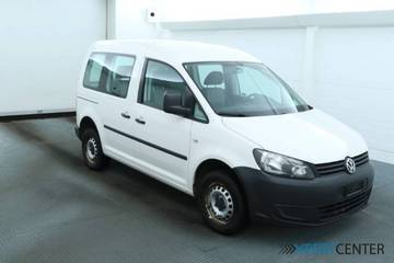 VW Caddy Kombi 2.0 TDI 4motion, Weiss, WV2ZZZ2KZCX...