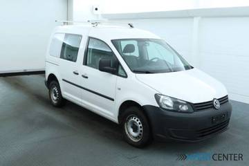 VW Caddy Kombi 2.0 TDI 4motion, Weiss, WV2ZZZ2KZEX...