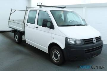 VW T5 DKab. Pick-up 3400 2.0 TDI 114 BMT, Weiss, W...