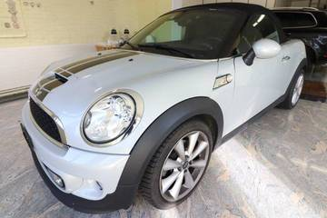MINI Roadster R59 1.6i Cooper S, weiss, WMWSY31060...